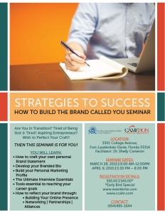 Brand You Seminar